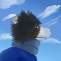 i see some clouds n' stuff. by Nuvoe