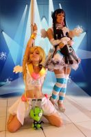 Panty n Stocking - Show time by MishiroMirage
