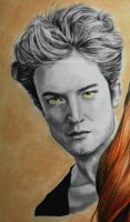 Robert Pattinson by WitchiArt