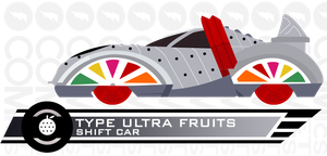 Shift Car Type Ultra Fruits by CometComics