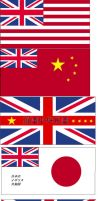 Historical Hypothetical Flags by BadWolf42