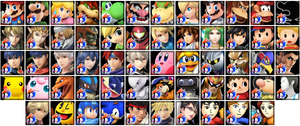 Super Smash Bros. 4 Avatars by Kirby-Kid
