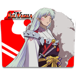 Inuyasha v2 (Sesshoumaru) - Icon Folder by ubagutobr