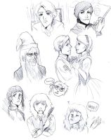 HarPot Sketches by propensity