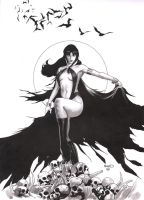Vampirella 11 original art by PaulRenaud