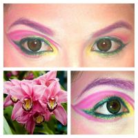 Orchid Eyeshadow by KLRainbow