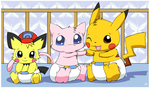 Baby Ashchu and friends by pichu90