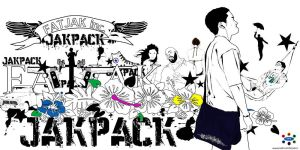 Fat Jak's JakPack back pack by mixmismo
