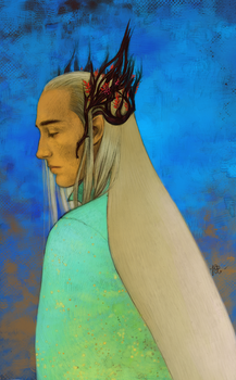 Thranduil by KarlaFrazetty