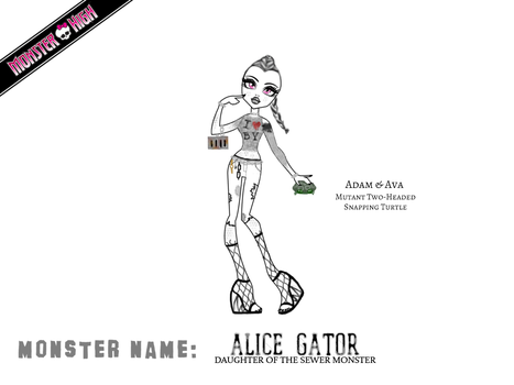 Alice Gator by ms-oblivious