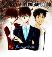 Lovely Guys in Detective Conan by ButterRolli