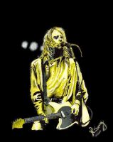 Kurt in Yellow by aRtUSSELL