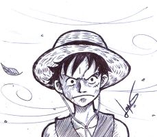 Furious Luffy by shimbo-lopes