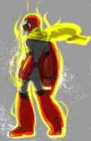 Blues_Protoman by Luvcnkll