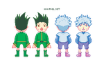 HxH PIXEL CHARM SET by Kuhli
