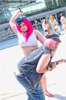 Otakon 2014 - Mad Gear Twins(PS) 06 by VideoGameStupid