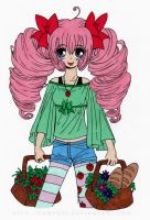 Strawberry Colored by Maiko-Girl