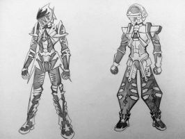 Keyblade Armors 2( REQUEST ) by ExusiaSword