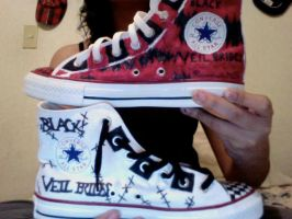 MY BVB Shoes-2 of 2 by XxAkatsukiLovexX