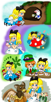 Alice's Adventures in Wonderland by purplemagechan