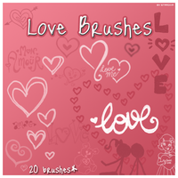 Love Brushes For Photoshop by brushesfreedow
