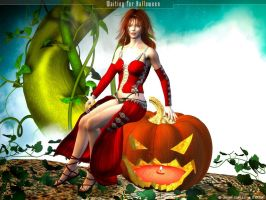 Waiting for Halloween by rlcwallpapers