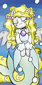 Clow Card Pony DEMO: The Bubbles (Derpy Hooves) by shadowslilfoamy