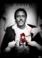 Dr. House (Wallpaper 3) by 11kaito11