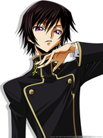 CG: Lelouch Lamperouge by heira