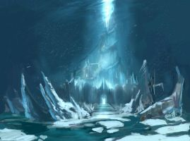 Frozen throne by Puffmix