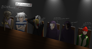 Evil Council Meeting. by altbouri