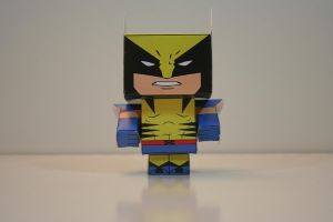 Wolverine (Front) by Mikhaelo-Johanio