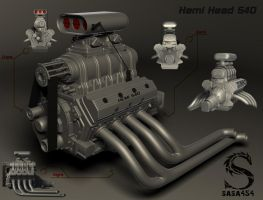 Hemi Head 540 by sasa454