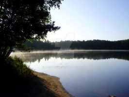 Lake Mist by K-especial