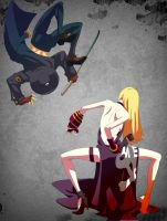 B. Jenet and Johnny by Diavle