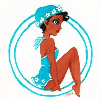 Week 20 - Blue Summer by LaraInPink