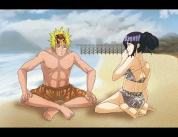 Naruhina: Crab colored by Nishi06