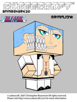 Cubeecraft - Grimmjow - 3D by AnimeShark20
