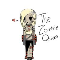 Zombie Queen by Teefyluff