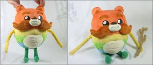 Impossibear Plush by HollyIvyDesigns