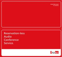 Airtel Audio Conference SKU-fr by corElement