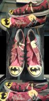 Batman Shoes by Eridanis-Requiem