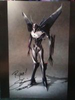 steve blum autograph by blackout501st