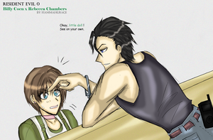 RE0 Rebecca and Billy meeting by FiammahGrace
