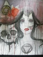 Skull/Girl/Abstract... by sSomeOneWhocareSs