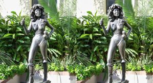 3d Busty Chris Owens Statue 1 full size by 3dpinup