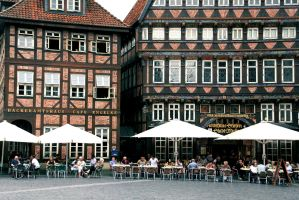 Mittagspause am Marktplatz by Mashified