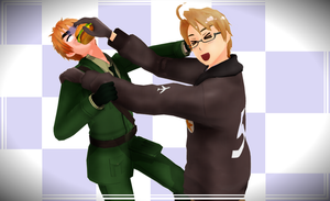 [MMD APH] Eat Real Food! by DensChoiceAss