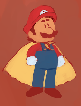 cape man by theultimatenootnoot