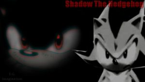 Sonic and Shadow - Wallpaper - 1 by I-G-imagination